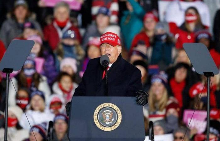 """حملة ترامب: المحاكم ستفصل في """"التزوير الممنهج"""" للانتخابات"""