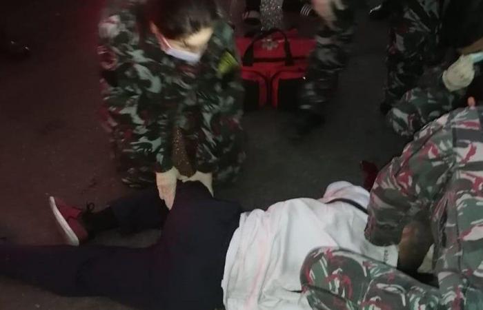 اعتداء على مواطن في الجناح… وإطفاء بيروت يسعفه
