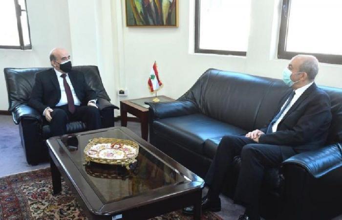 قضايا الشرق الأوسط بين وهبة وسفير تركيا