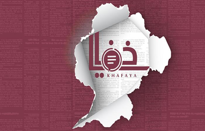 نصب خيمة أمام مالية طرابلس