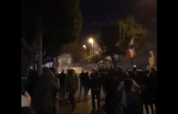 قوى الأمن تروي ما حصل في الحمرا.. وتدعو المتظاهرين السلميين لمغادرة المكان