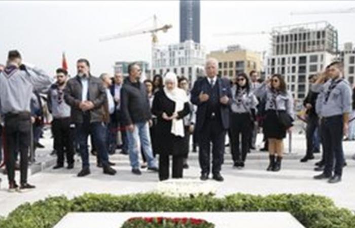 إشكال بين مناصرين لـ'المستقبل' ومتظاهرين في ساحة الشهداء