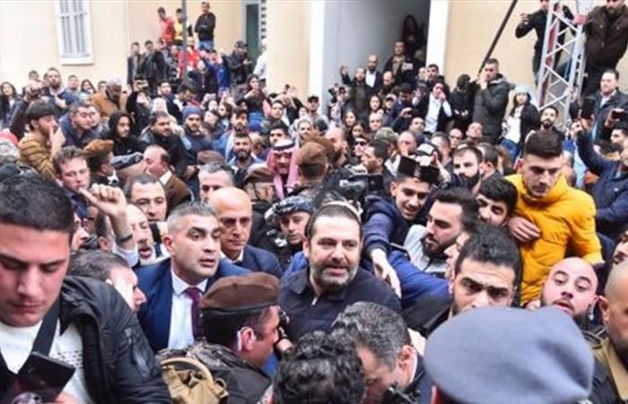 بدء الاحتفال بذكرى استشهاد الحريري في بيت الوسط