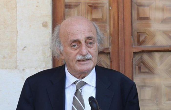 جنبلاط: لا لاغتيال لبنان الكبير من قوى الوصاية وان كنا قلة مع الحريري