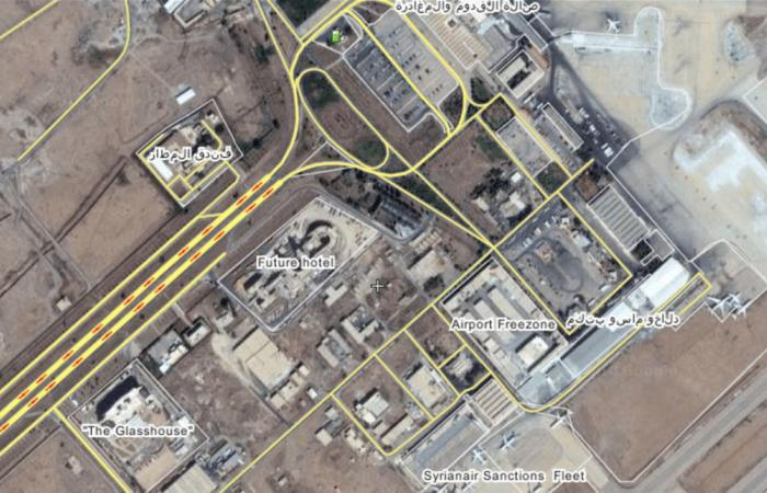 قصف إسرائيلي بمحيط دمشق...7 قتلى من الجيش السوري والحرس الثوري