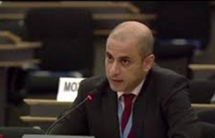 مشادة كلامية بين السفير اللبناني والمندوب الاسرائيلي بالأمم المتحدة (صور)