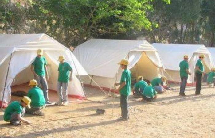 مخيمات حزبية