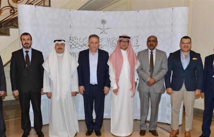 سفير السعودية في لبنان يقيم مأدبة عشاء للسفراء العرب بمناسبة حلول عيد الأضحى