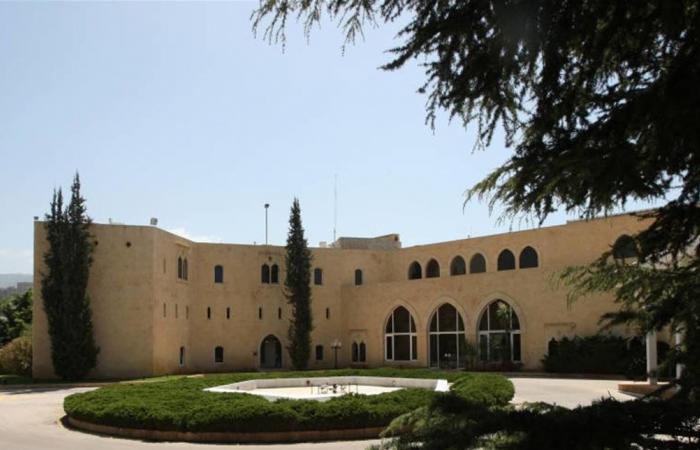 اضرار كبيرة في قصر بعبدا جراء الانفجار