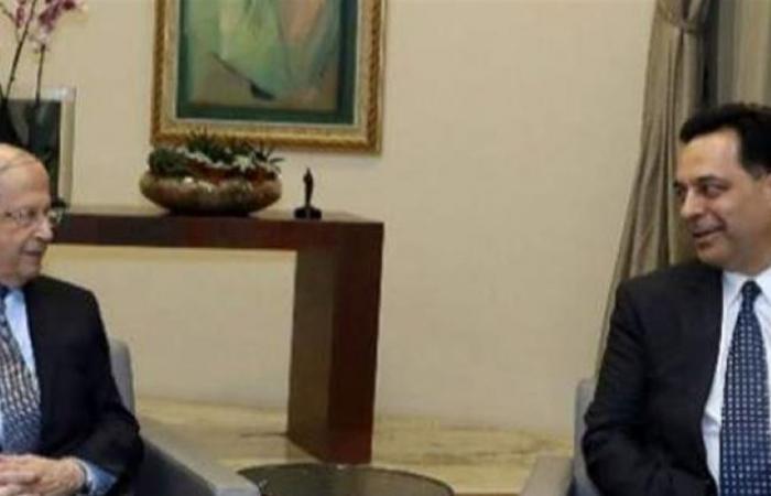 دياب أبلغ عون أنه يريد الاستقالة… فنقلت الجلسة إلى السراي!