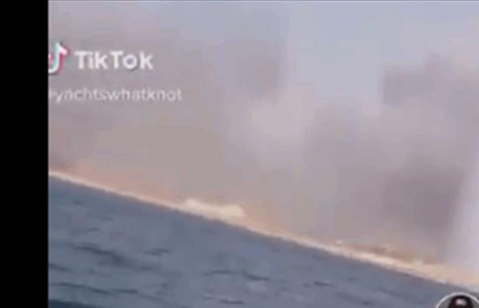كانا أول من صوّر انفجار المرفأ على الـ'jet ski'.. ردة فعلهما أنقذتهما! (فيديو)
