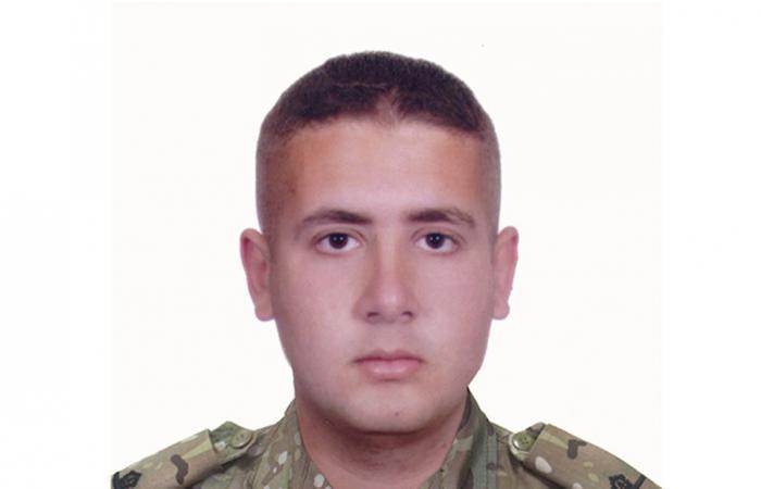 قيادة الجيش نعت المؤهل جورج معلوف أحد ضحايا انفجار بيروت