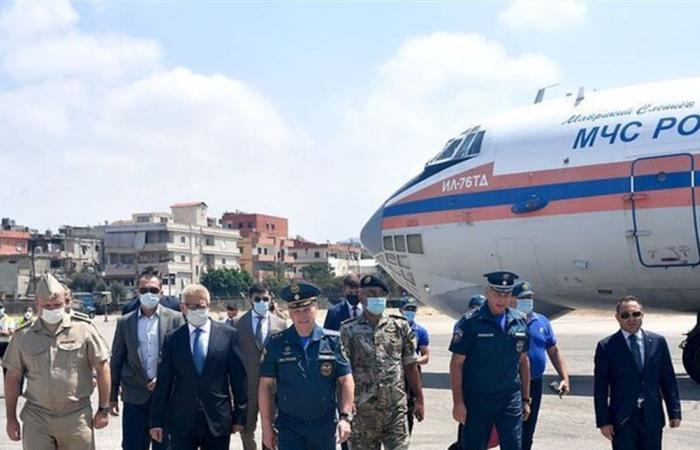 روسيا تبدأ سحب رجال الإنقاذ والأطباء من لبنان