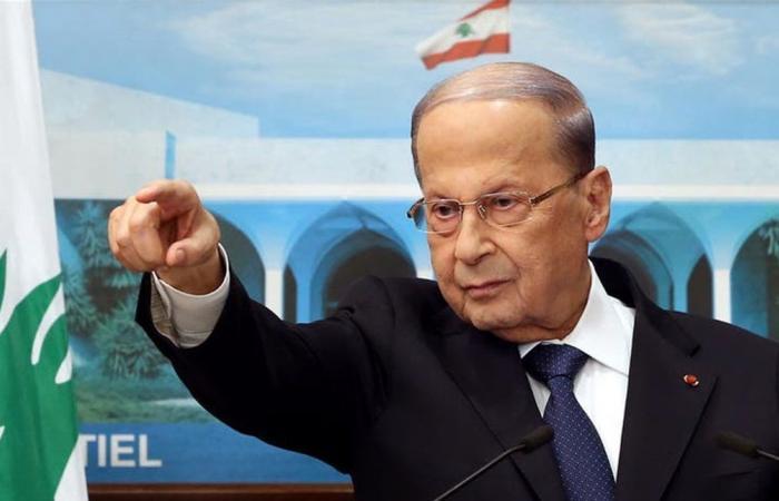 الرئيس عون: نتمسك بحقنا الكامل في مياه لبنان وثروته الطبيعية من نفط وغاز