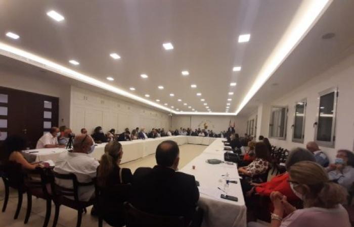 برنامج مرحلي مشترك لإنقاذ لبنان